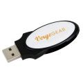 1 GB Oval Folding USB 2.0 Flash Drive