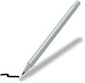 Damp-Erase Pens with White Barrel & Cap / black ink. Non-imprinted