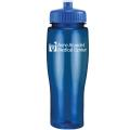 24oz Translucent Contour Bottle with Push Pull Lid