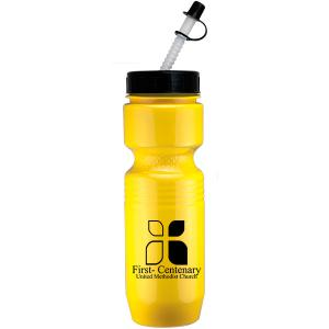 26oz Jogger Bottle with Straw Tip Lid