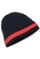 AC2630 KNP Acrylic Knit Beanie with Stripe