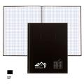 ' A9Q HARDCOVER NOTEBOOK WITH QUAD PAGES