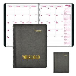 ' CB1200 WIRE BOUND SOFT COVER MONTHLY PLANNER