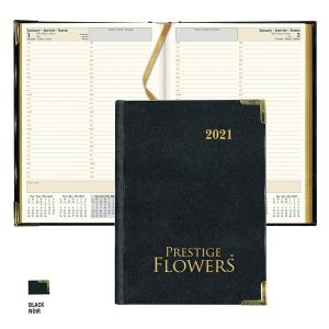 ' CBE514 EXECUTIVE SOFT COVER SEWN BOUND DAILY PLANNER